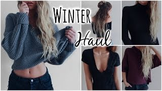 Try On Winter Haul // & Huge Giveaway!
