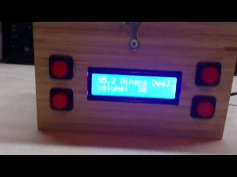 Raspberry Pi wifi internet radio