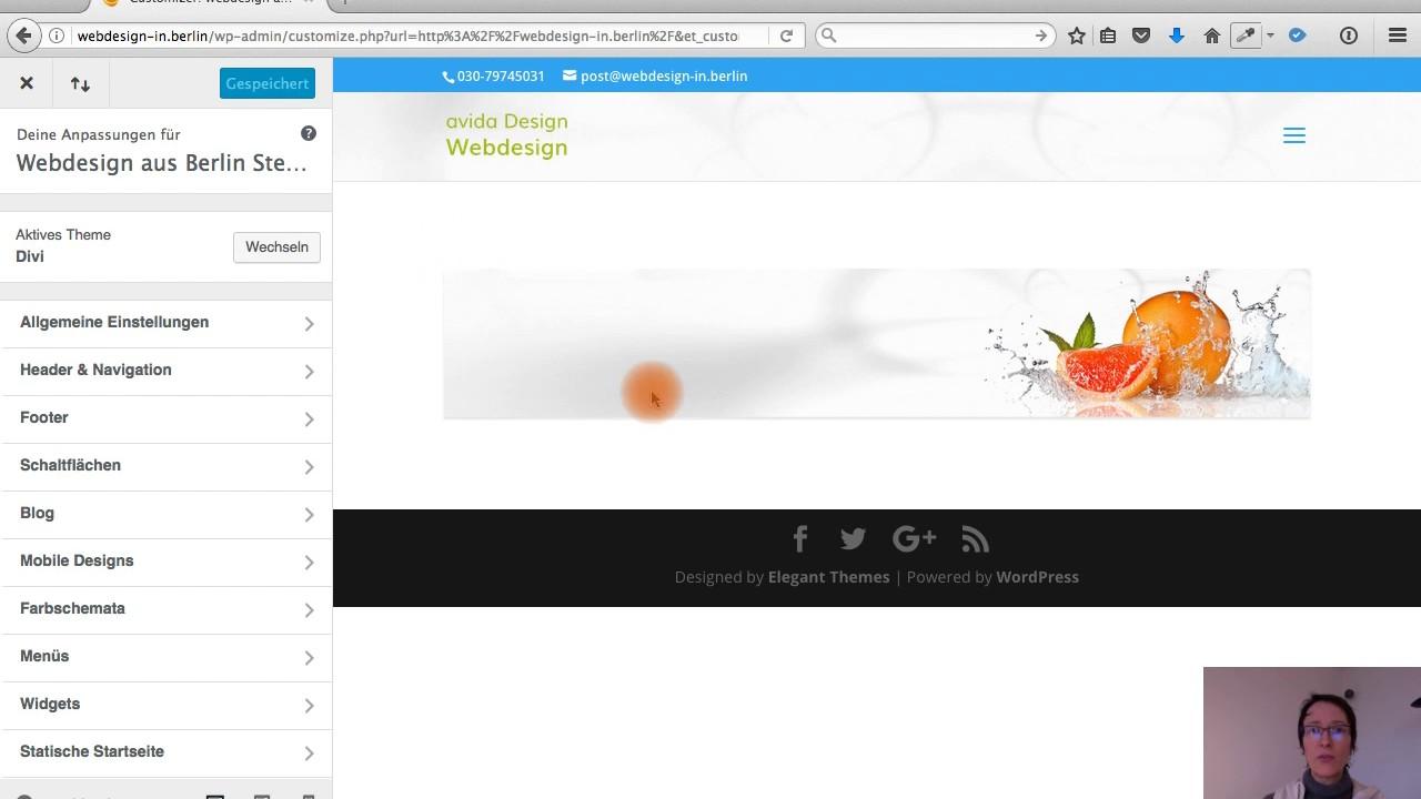Designed by elegant themes powered by wordpress - Divi Theme Logo Einf Gen Und Anpassen How To Add A Logo In Divi Wordpress Tutorials