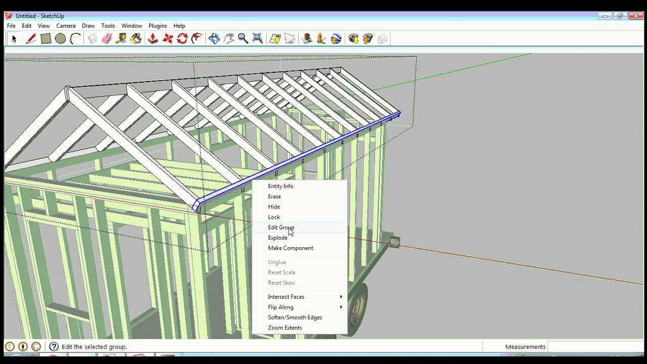 91+ House Design Sketchup Youtube - Google SketchUp Speed Design ...