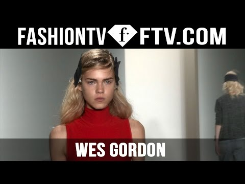 Hairstyle at Wes Gordon Spring 2016 New York Fashion Week | FTV.com