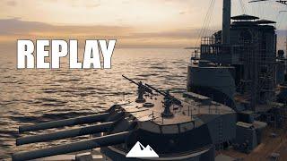 VIRIBUS UNITIS, lagsam aber sicher! - World of Warships | [Replay] [Deutsch] [60fps]