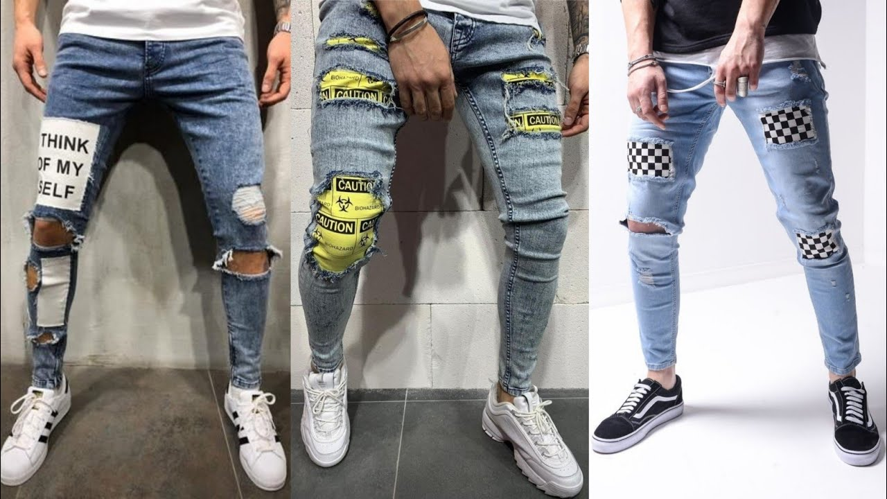 Top 20 Ripped Damage Denim Jean's Pant For Men's 2020 | How To Style In Ripped damage Jean's