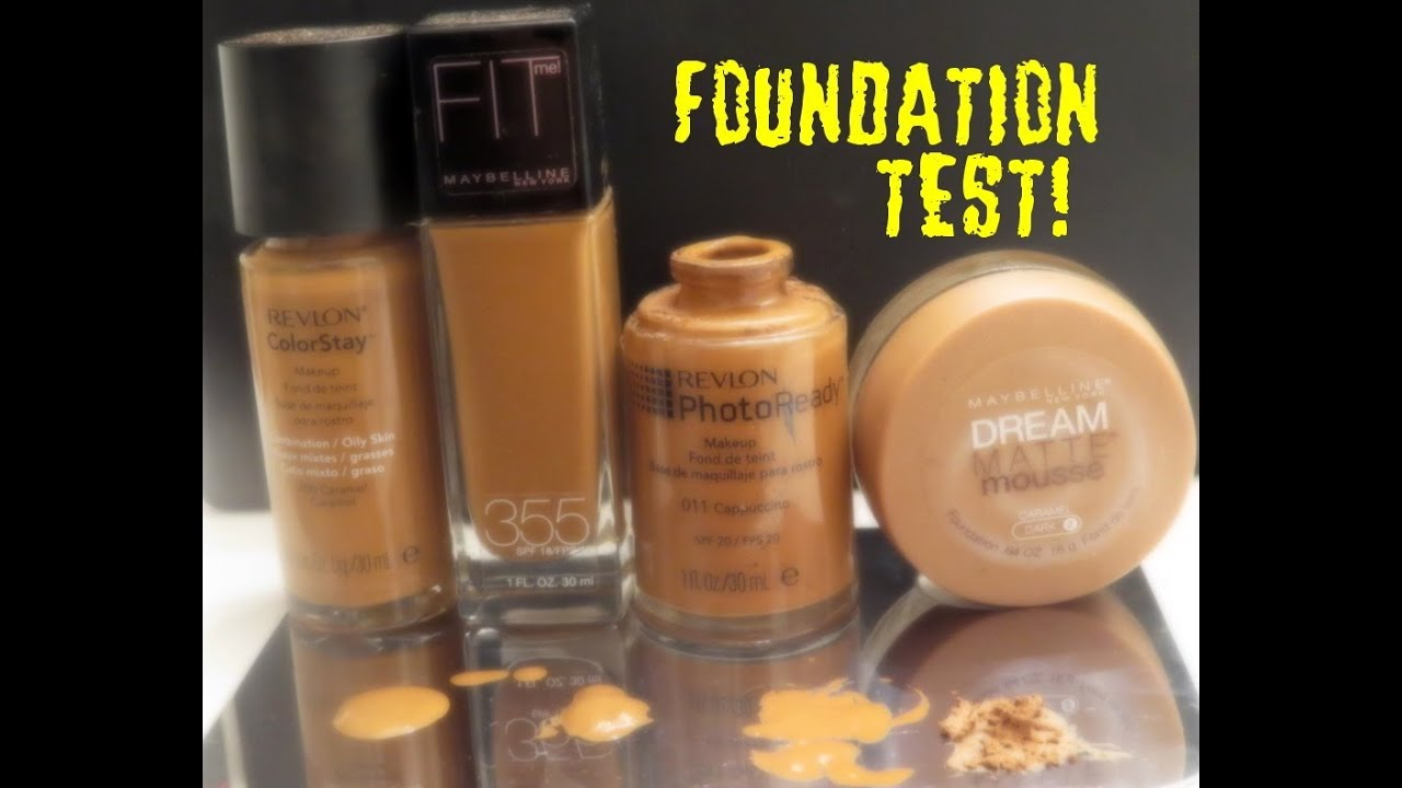 The Foundation Test - How to determine your shade. - YouTube