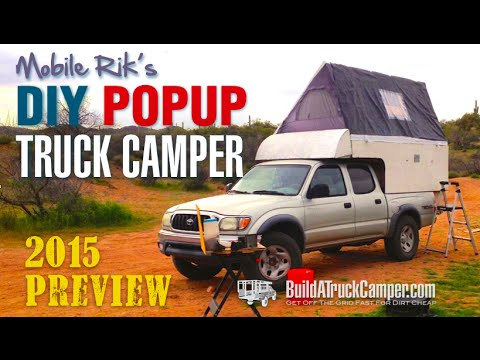 Diy Pop Up Truck Camper New 2015 Teaser Video Youtube