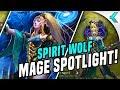 SPIRIT WOLF MAGE   New Hero Spotlight ARUM    AoV News