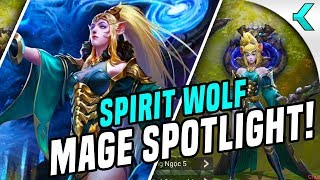 SPIRIT WOLF MAGE | New Hero Spotlight ARUM |  AoV News