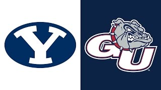 getlinkyoutube.com-Highlights - Gonzaga Basketball vs BYU - February 25, 2017