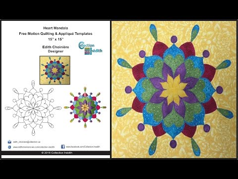 free-quilt-block---collection-inédith---heart-mandala---fmq-and-appliqué