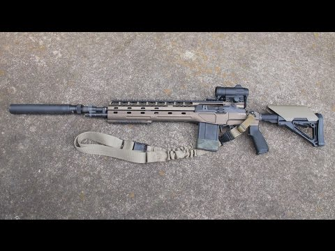 M14.CA Blackfeather with Scout Hand Guard Installation instructions