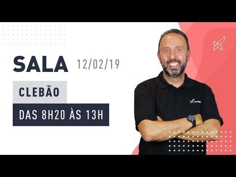 SALA AO VIVO - CLEBÃO no modalmais 12.02.2019