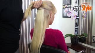 Przedłużanie włosów metodą CLIP IN, DOPINKI HEADSTYLER 50cm