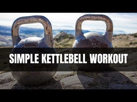 Your 10-Minute, 4-Move Kettlebell Workout