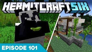 Hermitcraft VI 101 | A NEW HOME! 🐼 | A Minecraft Let's Play