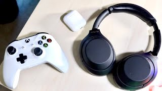 How To Connect Any Bluetooth Headphones To Xbox One!