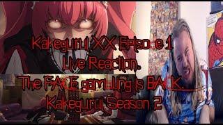 Kakegurui XX Episode 1 Live Reaction. The FACE gambling is BACK. Kakegurui Season 2
