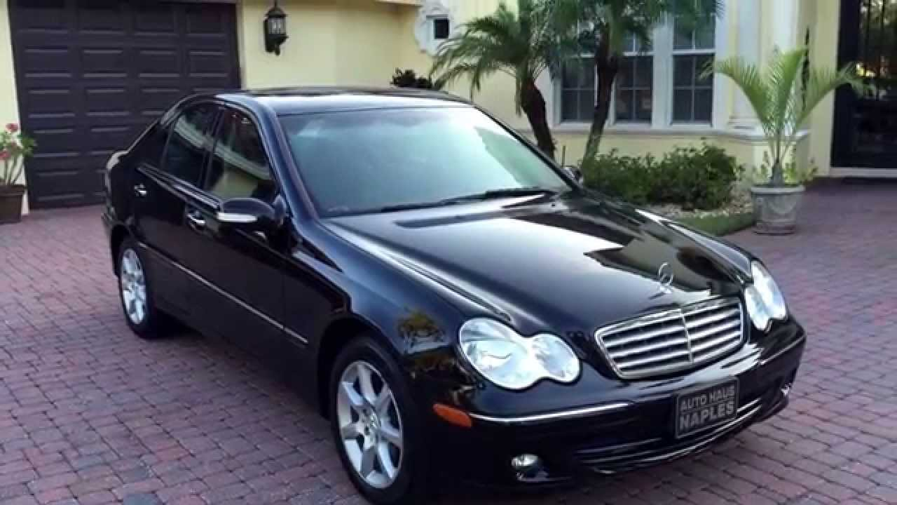 test drive 2007 mercedes benz c280 4matic for sale by