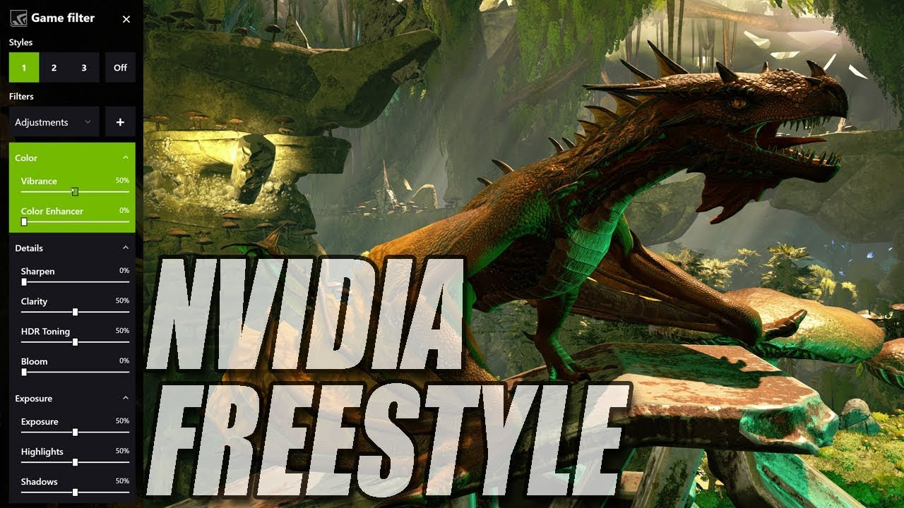 How To Install NVIDIA Freestyle New Feature! Adjust Colour, Contrast &  Sketch Mode
