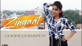 ZINGAAT HINDI | DHADAK | Bollywood Dance Choreography | Muskan Kalra