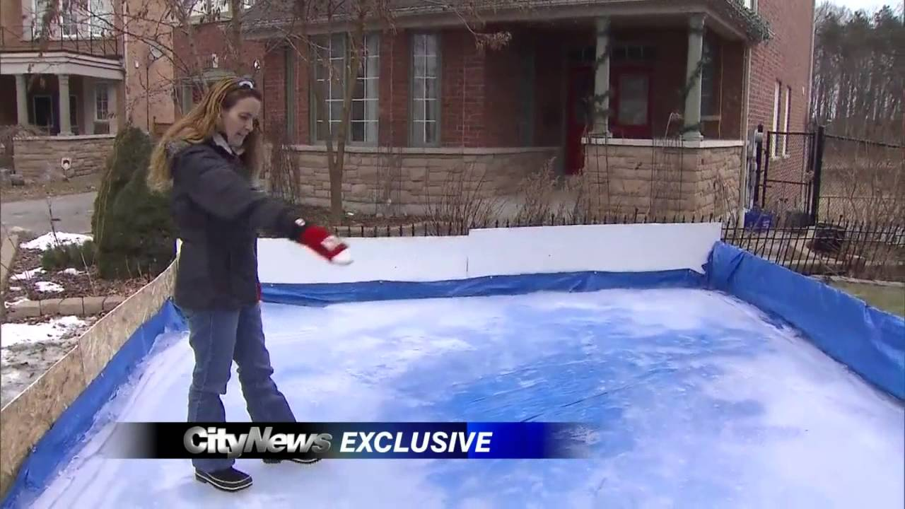 exclusive ajax family ordered to remove front yard ice rink youtube
