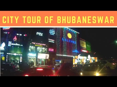 Night life of Bhubaneswar | Smart City of India Bhubaneswar City Tour | Night view