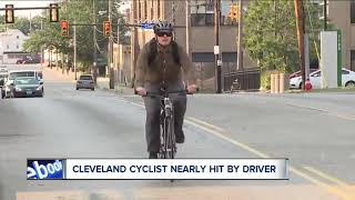 Caught on camera: Cyclist nearly hit by road rage driver