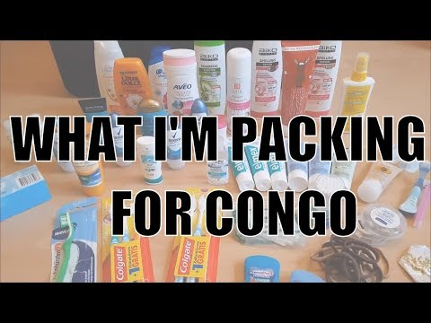 What To Pack As A Humanitarian Aid Worker Going to Congo Africa | Challenged Minimalist