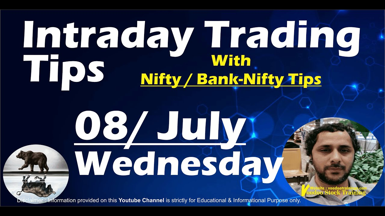 Best Intraday Stocks for 08 July | Free Intraday Live Trading Tips | Nifty & Bank Nifty Tips