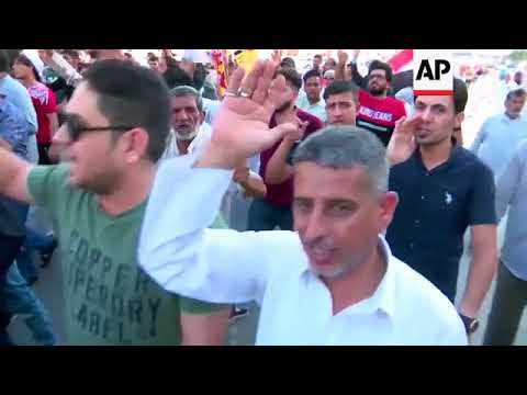 Protests over Iraq economy and unemployment spread to Najaf