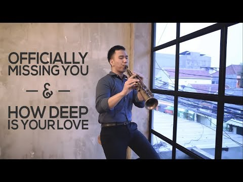 Officially Missing You & How Deep Is Your Love - Saxophone Cover by Desmond Amos