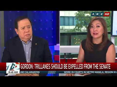 Gordon wants Trillanes expelled from Senate