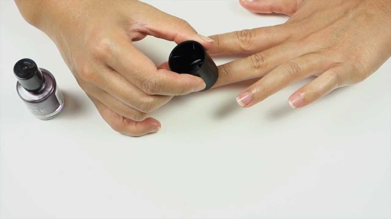How To - Apply Nail Designs with Sally Hansen Magnetic Nail Colors ...