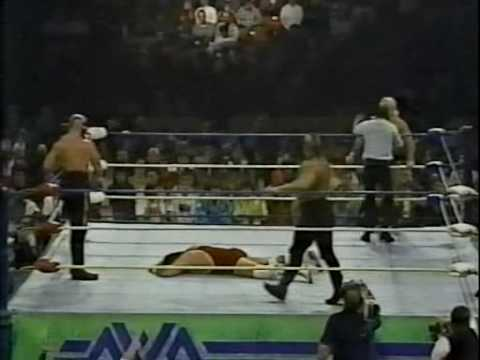NWA '89 - Wrestle War: Music City Showdown Ad