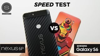 Nexus 6P vs Galaxy S6 - Speed Test