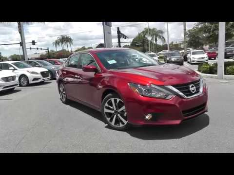2017 Nissan Altima 2 5 SR Stock #279811 - YouTube