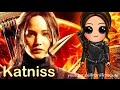 How to Draw Chibi Katniss Everdeen Hunger Games step by step Mockingjay