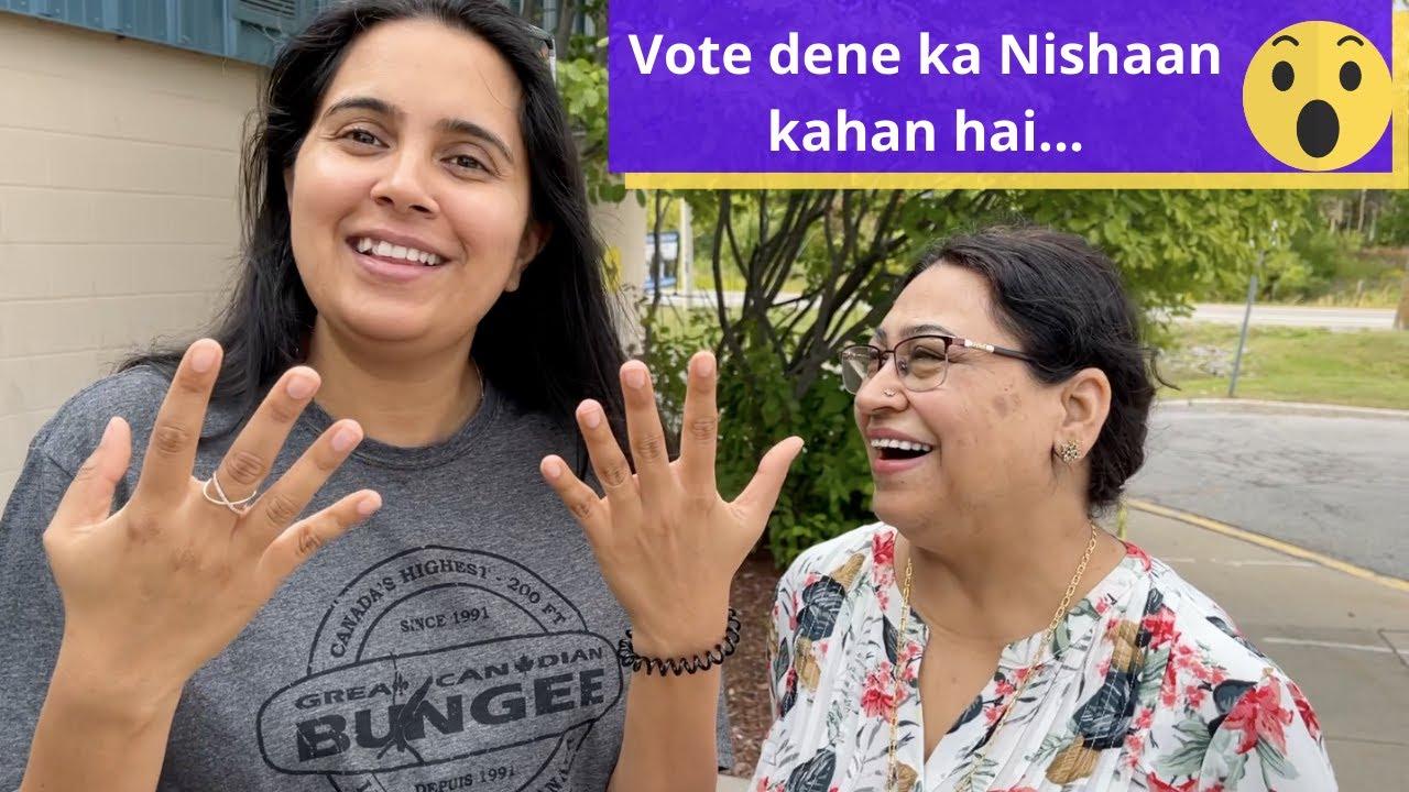Difference between voting in Canada and India | Chatty aaj bani Zimmedaar naagrik