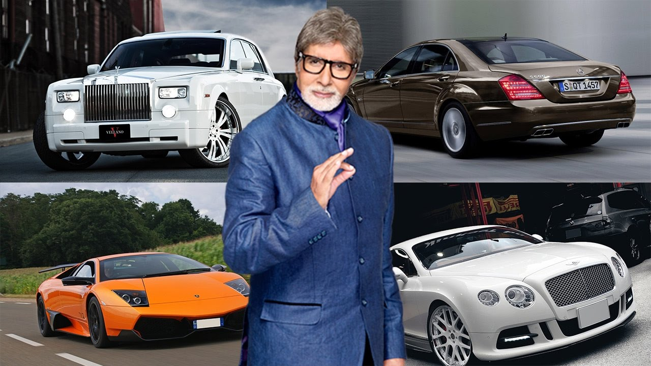 Amitabh Bachchan Cars Bollywood Big B Amitabh
