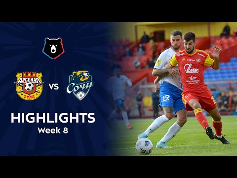 Arsenal Tula Sochi Goals And Highlights
