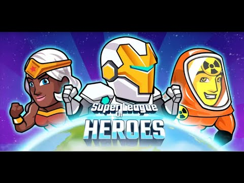 Super League Of Heroes - Comic Book Champions - Android/iOS Gameplay