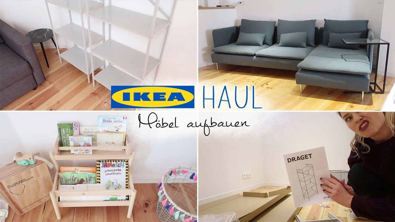 ikea haul m bel aufbauen neues sofa wohnung einrichten tinyme carla youtube. Black Bedroom Furniture Sets. Home Design Ideas
