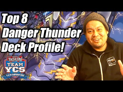 Yu-Gi-Oh! YCS Atlanta Top 8 Danger Thunder Dragon Deck Profile! ft. Jovanny Castillo!