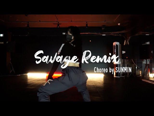 EZDANCE I 잠실점 I 이지댄스 I Megan Thee Stallion - Savage Remix I GIRLS CHOREO BASIC I Choreo by SUNMIN
