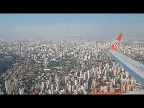 Pushback, taxi e decolagem de São Paulo / Congonhas (SBSP) B737-800 Gol Linhas Aéreas
