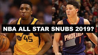 5 Deserving 1st Time NBA All-Stars Who Will Get Snubbed In 2019