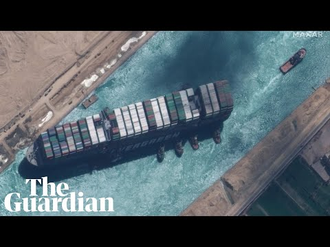Suez canal ship freed and heading to lake for inspections