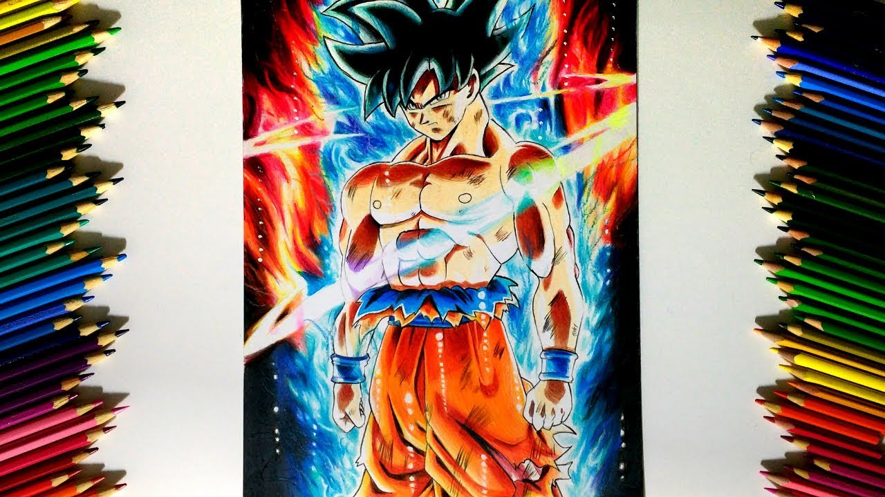 Drawing - Goku NEW FORM Ultra Instinct | Limit Breaker ドラゴンボール超