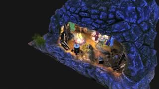 Amazing living Nativity scene in 3D !