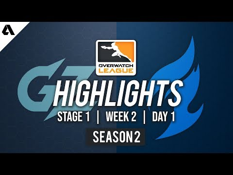 Guangzhou Charge vs Dallas Fuel | Overwatch League S2 Highlights - Stage 1 Week 2 Day 1 thumbnail
