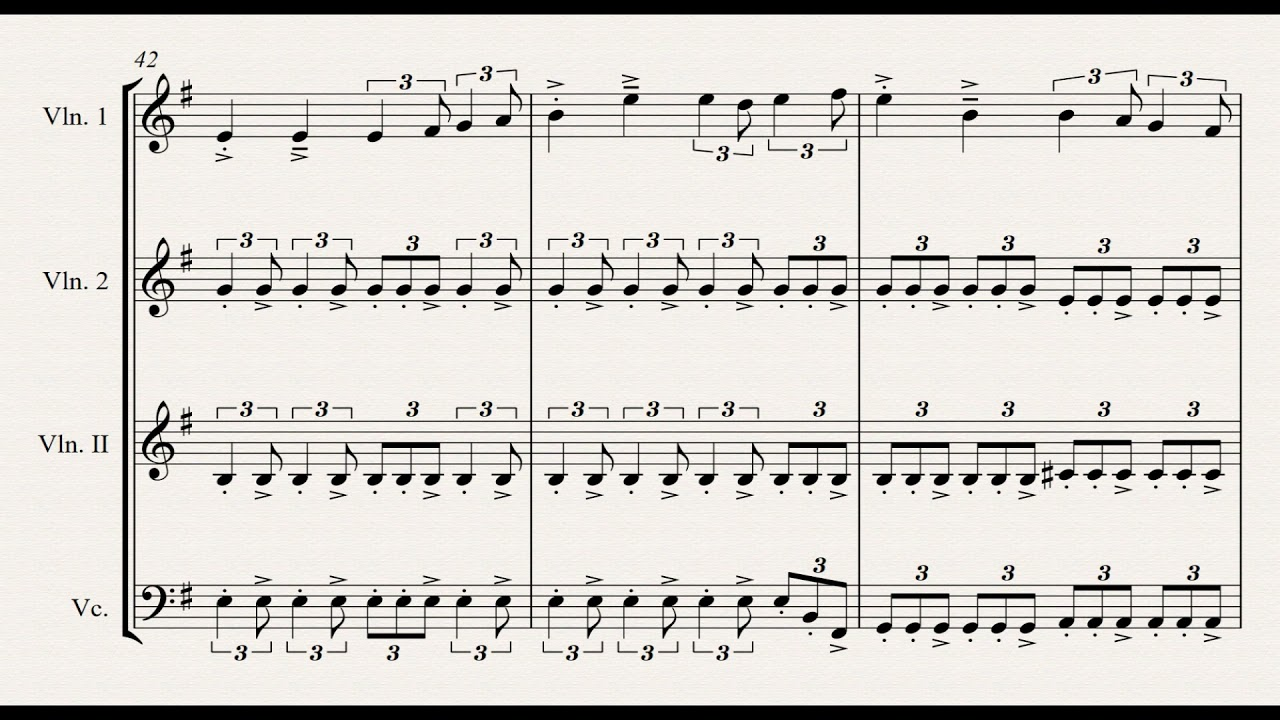 The King of Fairies String Quartet/Solo Flute/Violin